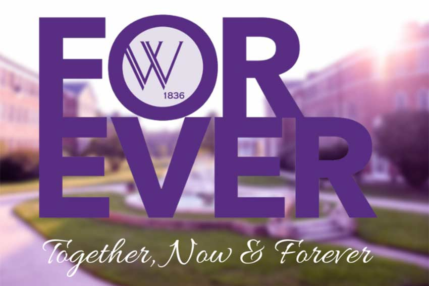 Forever. Together, Now & Forever