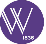Wesleyan Circle logo with a W and the date of 1836.